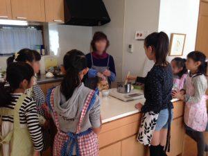 kikiさんのケーキ教室*秋休みキッズ教室*