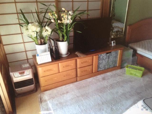 I様邸TVボード+鏡台